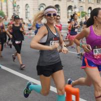 New York Mini 10k (43:15); photo by Jared Mestre